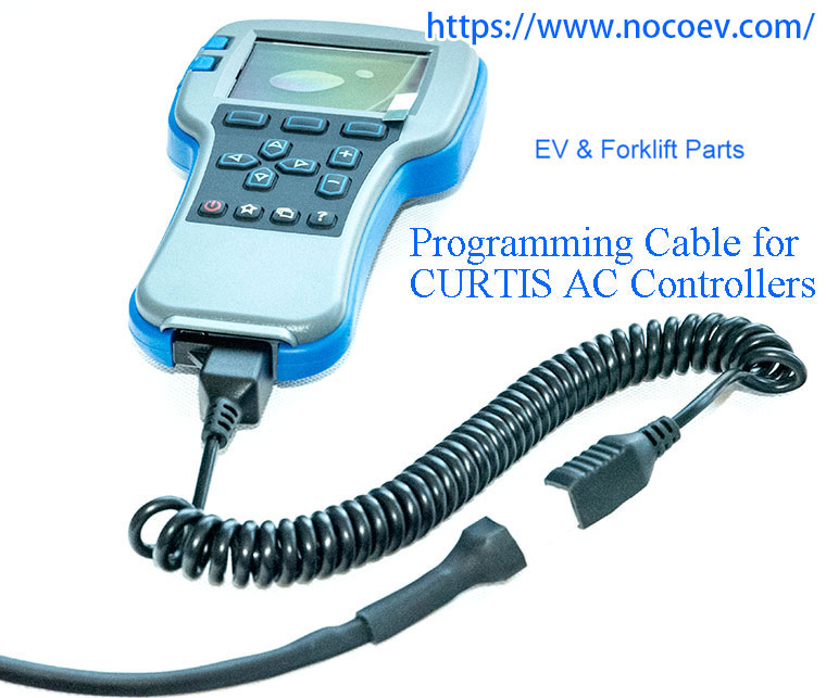 Programming Cable Designed For Curtis Ac Motor Speed Controllers